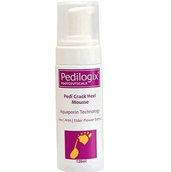 O3 Pedilogix Pedi Crack Heel Mousse- Miracle Heel Repair Cream for Cracked Heels and Dry Feet, 120