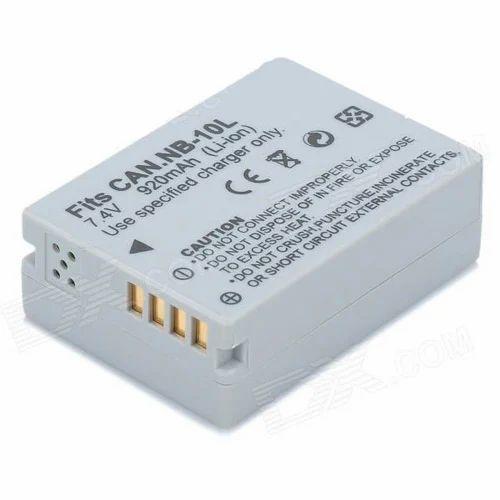 NB-10L Hybrid Camera Battery, Battery Capacity: 920 Mah, Packaging Type: Box