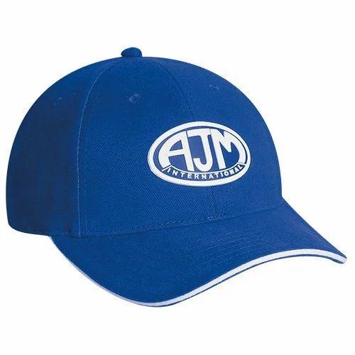Blue Unisex Promotional Sports Cap