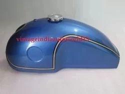 New Benelli Mojave Kawasaki Ducati Yamaha Cafe Racer Blue Painted Gas Fuel Petrol Tank With Fuel Cap