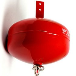 Mild Steel Red Ceiling Mounted Fire Extinguisher ABC Type 5 kg