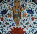 Marble Coffee Table Top Pietra Dura Inlay Handmade Work Room Decor