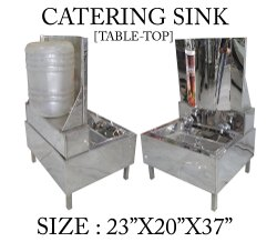 Catering Sink Table Top