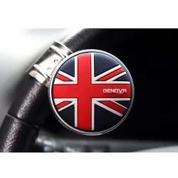 Genova Union Jack Power Stearing Knob Korean