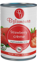 B Glamoura Strawberry Creme Hydrosollluble Wax