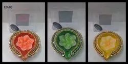Rangoli-1 Diya  (set Of 1)