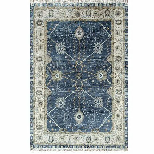 Jaipur Rugs Hand Knotted Wool Blue