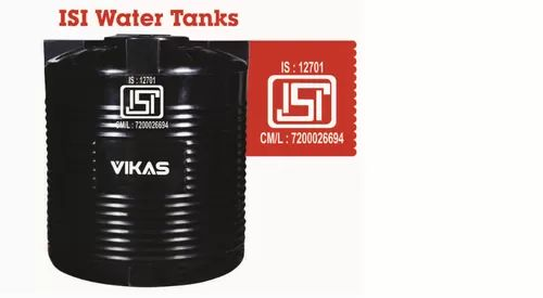 ISI Plastic Water Tank