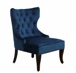 Junglewood Wooden Sofa Chair, Finish: Walnut