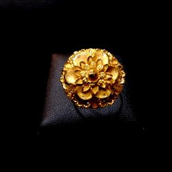 Gold Ring Party Wear
