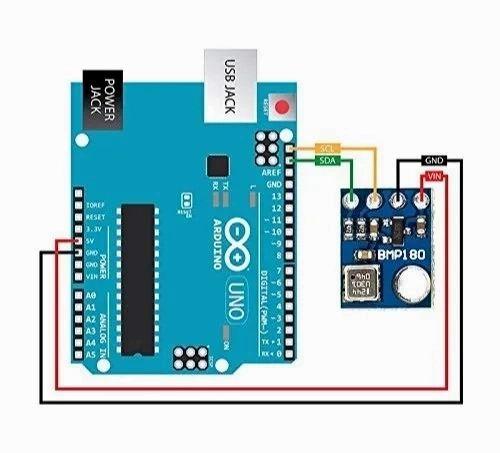 Centiot- Bmp180 Digital Barometric Pressure Sensor Of Original Bosch  Sensortec For Arduino