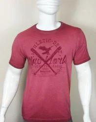 Machine Wash Mens Round Neck T Shirt
