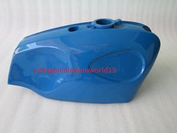 New Bsa B25 B44 Starfire Blue Painted Steel Petrol Tank