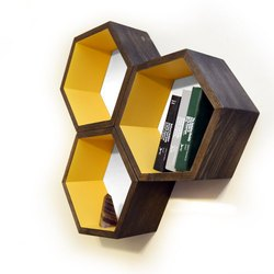Hexagon Book Racks