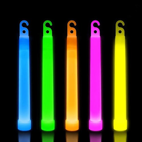 Glow 6 Inch Light Stick - Use for Party, Events, Navy Training, Air Force Training and many more