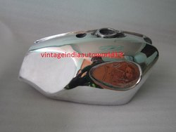 New BSA B25 B44 Starfire Polished Alloy Aluminum Petrol Tank Raw (Reproduction)