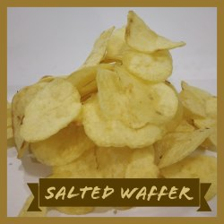 Crispy Salted Potato Wafer (Munchin Potato Chips), Packaging Type: Packet, Shelf Life: 3 Months
