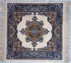 BAGMA Multicolor Carpeted Pooja Asan Mats 24x24 Inches, Packaging Type: Packet