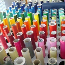 photo about Printable Self Adhesive Vinyl Roll named Self Adhesive Vinyl - Printable Vinyl Roll Wholesale