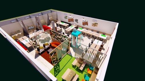 3d Interior Design Concepts Location North India Id
