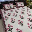 Jaipuri Block Printed Bedsheets