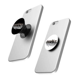 Plastic White and Black Mobile Pop Socket, Thickness: 3 Mm, Size: Small
