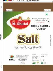 i-shakthi White Crystalline Iodized Salt, Packaging Size: 1 KG, Features: Triple Refined