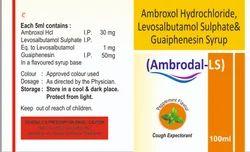 Ambroxol Hydrochloride, Levosalbutamol Sulphate and Guaiphenesin Syrup