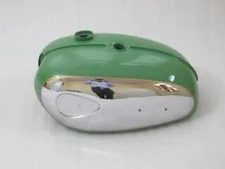 New Bsa A65 Thunderbolt Green Painted Chrome Petrol Tank (Reproduction)