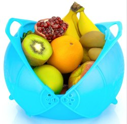 Fruit and Vegetable Plastic Washing Basket