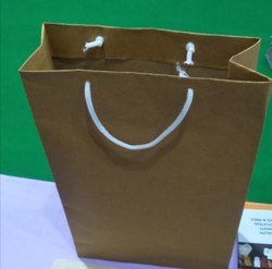 Plain Rope Handle Paper Bags, For Packaging, Capacity: 3 kgs
