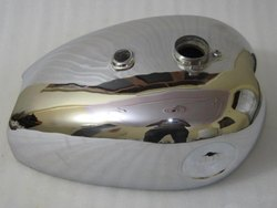 BSA Chrome Gold Star Petrol Tank