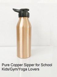 Copper Sipper Bottle for School Kids