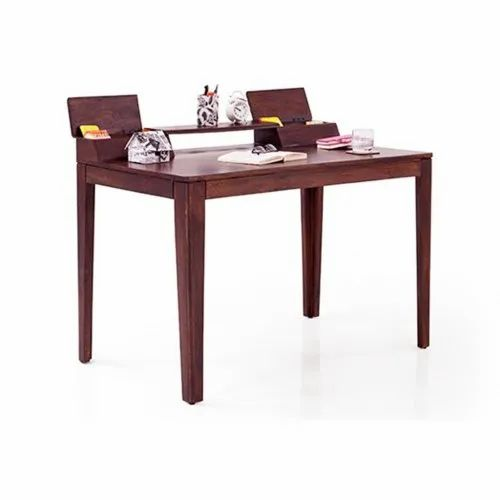 Wooden Study Table Mahogany Finish