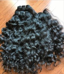 Hair King Unprocessed Natural Indian Human Spring Curly Hair