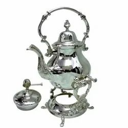 Tea Kettle with Burner and Stand