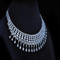 Stylish Diamonds Necklace