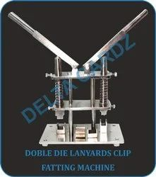 ID Lanyard Clamp Punching Machine