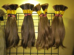 100% Natural Indian Human Brown Bulk Hair King