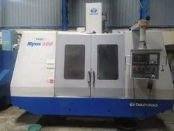 Used & Old Machine - Deawoo Mynx 500 Vertical Machine Center Available In Nathupur Haryana Year 2001