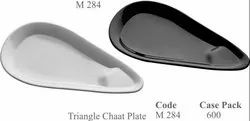 Triangle Chaat Plate