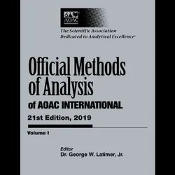 AOAC-Official Methods Of Analysis-21st EDN.2019