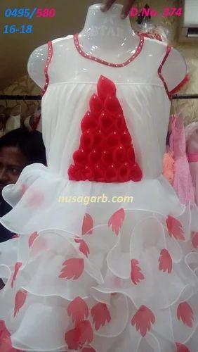 31da5df58138 3 Colour Shade Indo - Western Girls Partywear Frock, Size: 14, 16 ...