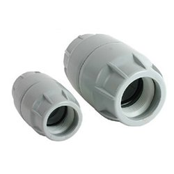 HDPE Push Fit Duct Coupler