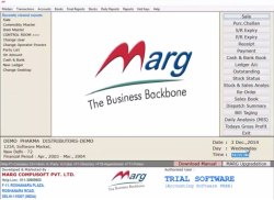 Marg Erp Software