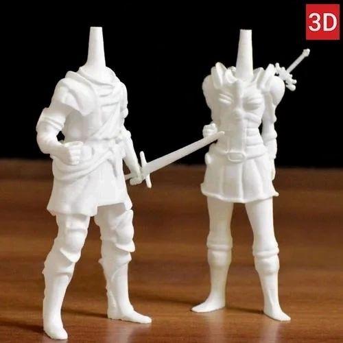 Nylon Functional Testing Miniatures 3D Printing Service   ID