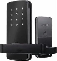 Stainless Steel Black Safety Door Lock