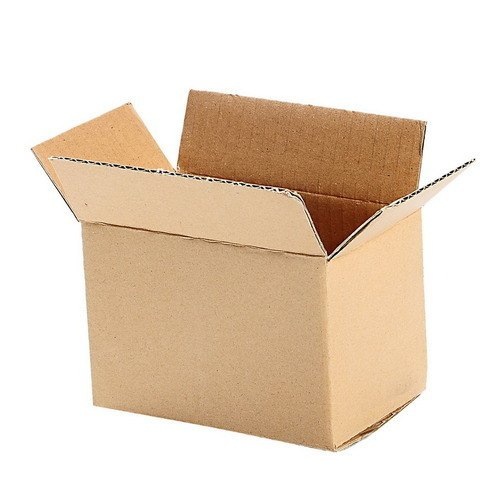 Brown Rectangle Corrugated Cardboard Box, for Packaging
