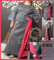 MFC 1455 Ladies Woolen Kurti