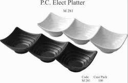 Polycarbonate Elect Platter